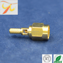 factory price RF connector SMA male connector high quality RG316/RG174 type connector