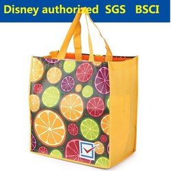Promotional non-woven plastic shopping bag