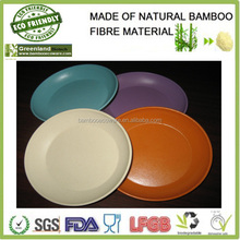 High quality best selling eco friendly white wash style spun bamboo fruit bowl