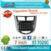3D UI Multi-touch Capacitive Screen 3G internal Wifi for Hyundai Verna 2010-2012 Android 4.2.2 Car Radio