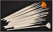 professional 15pcs nail art brush set design drawing nail brushes nail painting brush set