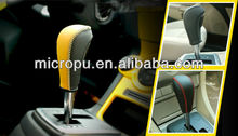 2015 news microfiber suede leather cover for car handbrake