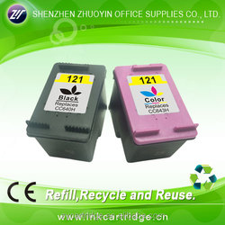 For hp ink cartridge 121 121xl for HP Deskjet F2530