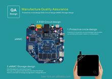 Custom amlogic S812 A9 arabic iptv channels google tv box android tv box metal GTQ tv box