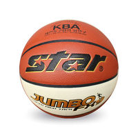 Whosale customized high quality PU standard Star BB427 basketball