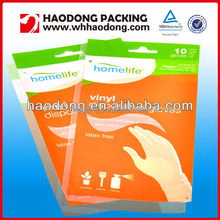 wholesale custom made printed plastic dry cleaning plastic garment opp bags