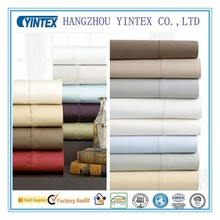 High quality 300T 100% oganic bamboo bed sheets/bedding