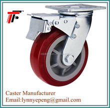450kg load capacity Swivel pu wheel ,plastic wheels ,wheel caster