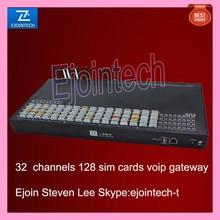 32 channels bulk sim cards mobile route box, gsm gateway