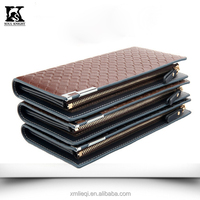 SK-8069 Cheap PU men pattern leather wallet phone case