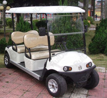 CE certificate approval luxury high quality 4 Seat DC System Electric Golf cart