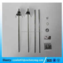 Straight roofing bolts with nut and washer