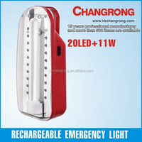 6V Battery Portable Tube Light with LED Rechargeable