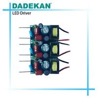 end cap led driver 22w 280ma for t5, t8, t10 led lighting