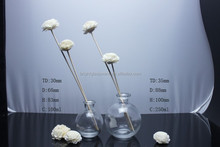 200ml ball shaped reed diffuser glass bottle aroma bottle and cork