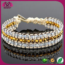 2015 New Design Personalized Europe And American best friends 2 in 1 bracelets