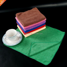 Disposable lint free nonscratch water absorption custom print microfibre car cleaning cloth