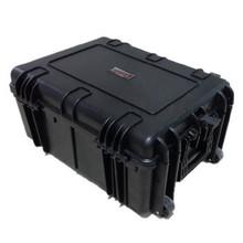 Watertight lockable military tough box hard plastic case with wheel for dji phantom case No544025