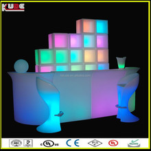 fashional style LED furniture sets for patio garden