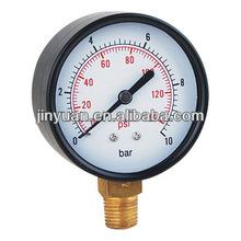 Hydraulic pneumatic dry pressure gauge oil filled pressure gauge