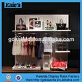 Ropa estante de exhibición/estantes de la exhibición para las tiendas al por menor/estante de exhibición