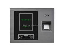AIBAO biometric fingerprint detection time clock reader facial recognition time attendance device