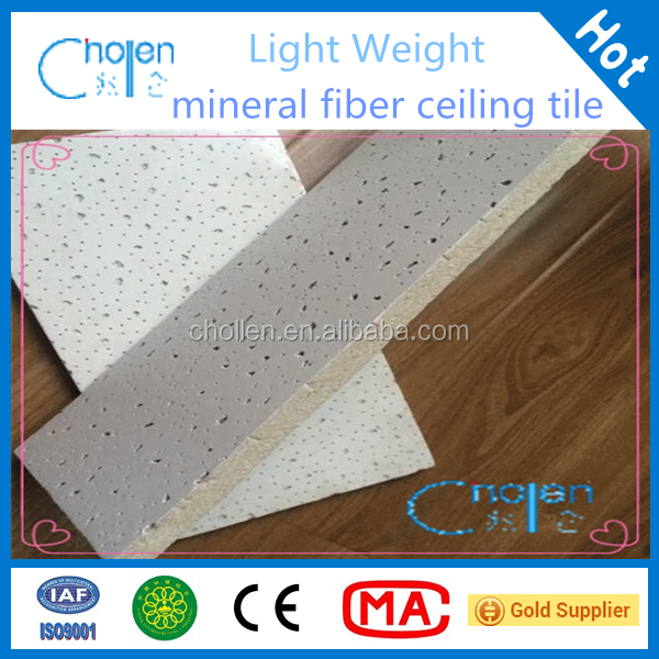 insulation light weight mineral fiber ceiling mineral wool