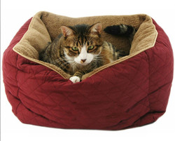 Wholesale plush cheap cat dog bed by OEM