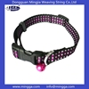 Reflective tinkle bell wholesale dog collars of high quality