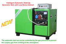 sound proof small biogas Generator 600W~3500W for home biogas plant to generate electricity