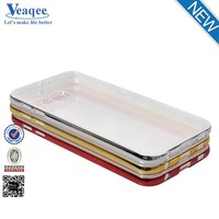 Veaqee best quality custom logo small MOQ rubber front sport TPU bumper mobile phone cover