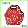 Branded insulated waterproof zipper 3mm neoprene tote lunch thermal bag