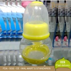 Small Size Fashion Popular PP Nipple Baby Feeding Bottle 3OZ/90ml