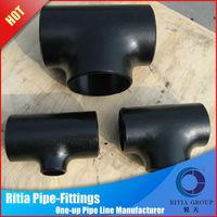 Low Medium Pressure Carbon Steel Reducing Tee