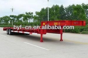 最高の多機能3- アクスル低床セミ- トレーラーbyf9390ヘビーデューティー用トラックのトレーラー