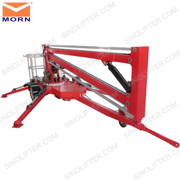 Mini Boom Lift : M mini trailing boom lift buy