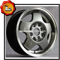 17*7 car alloy chorme wheels 18 inch rims for sale ET +40 orange