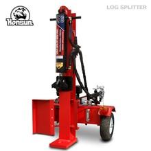 Germany Hanover exhibited forestry machiney - electric Honda 50 ton hydraulic log splitter