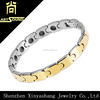 nice tungsten bracelet gold plated hematite health bangle cool men's jewelry
