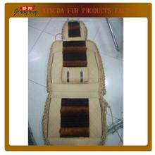 Full Set Crochet & PVC & Korean Silk Car Seat Cover