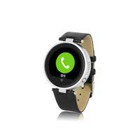 2015 fashion round smart watch bluetooth phone, andriod smart watch for IOS and Android phone