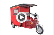 New design electric tricycle for tourists with great price