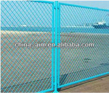 expanded metal security doors/galvanized expanded metal roll/diamond wire mesh raised expanded metal