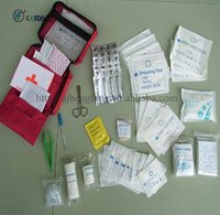 Emergency survival first aid kit for home