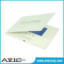 """shenzhen directly supply best orice 4.3"""" lcd tft video greeting card"""
