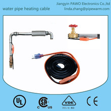 USA plug Water pipe heating cable with temperature thermostat