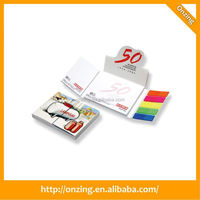 Onzing high quality well sold sticky note pad using recycled material