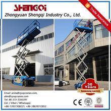 Henan Famous Brand 5 Ton Hydraulic Scissor Lift