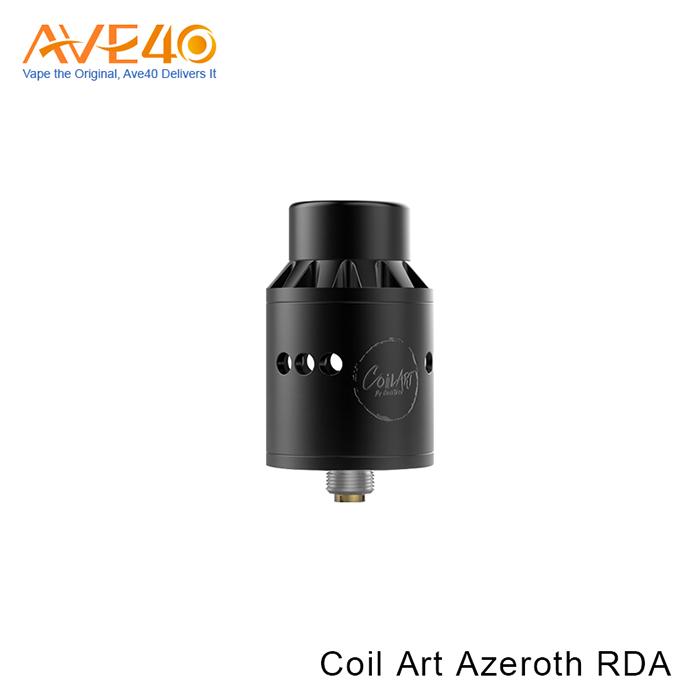 Sản Phẩm mới Điều Chỉnh Luồng Không Khí Thiết Kế E Phun Thuốc Lá CoilArt Azeroth RDA Cho Smok GX350