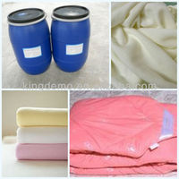 Factory price super fluffy soft silicone oil for cotton,yarn and cotton blended fabrics(KDM-C18P)